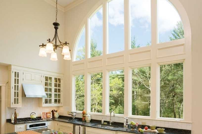 Circle Top windows Andersen by Green Eco Solutions