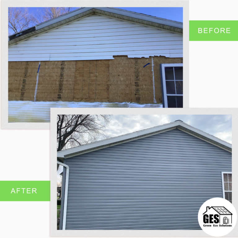 Siding Replacement - Stockertown PA - Green Eco Solutions