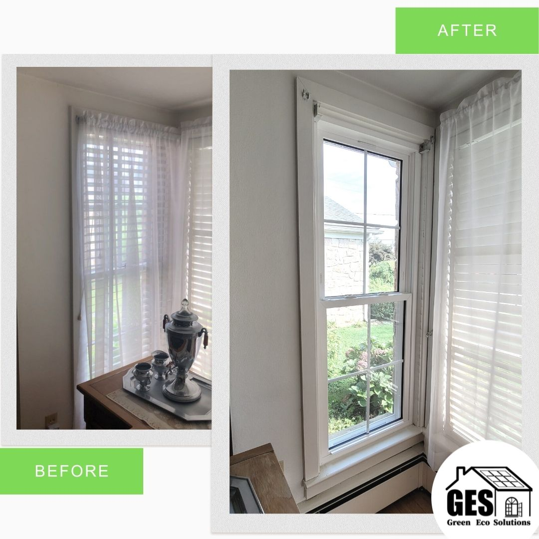 Window Replacement in Easton, PA by Green Eco Solutions