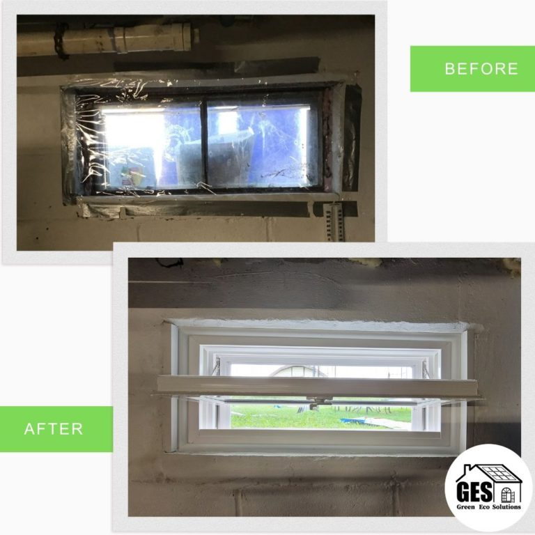 Hopper Window Replacement by Green Eco Solutions