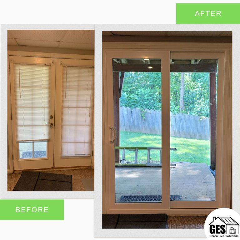 New Patio Door Replaced in Aston, PA by Green Eco Solutions
