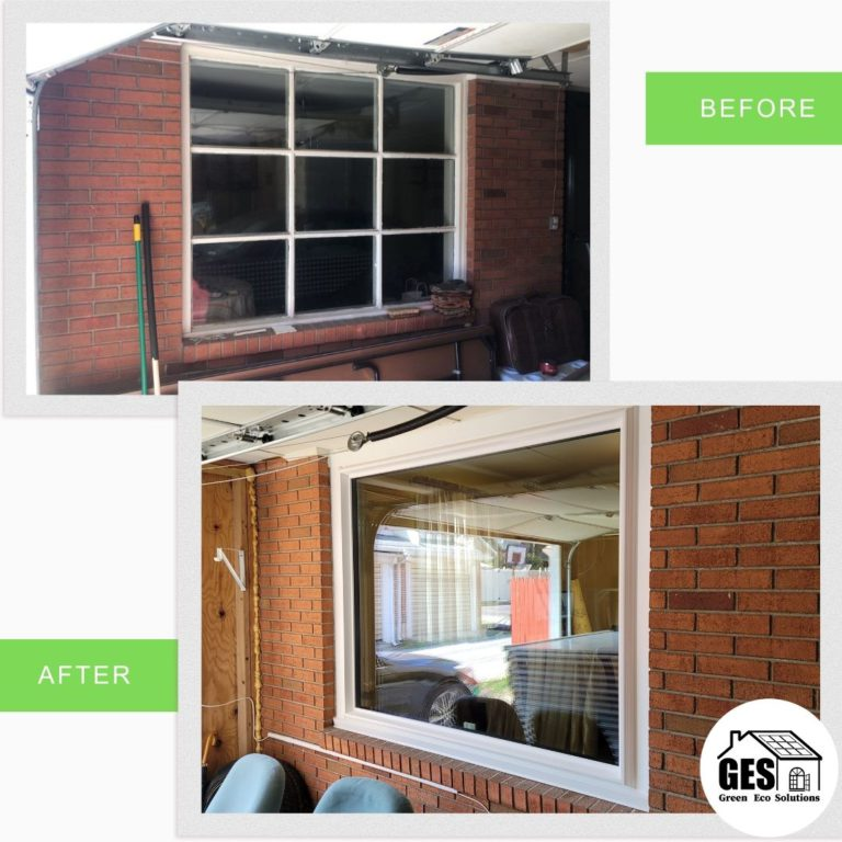 Professional Window Replacement brick home in Allentown, PA