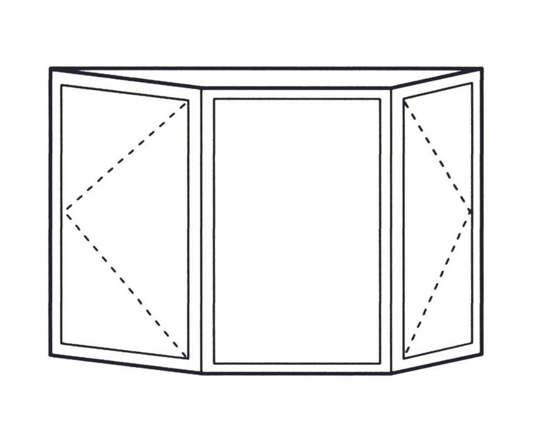 bay and bow window configuration by Green Eco Solutions